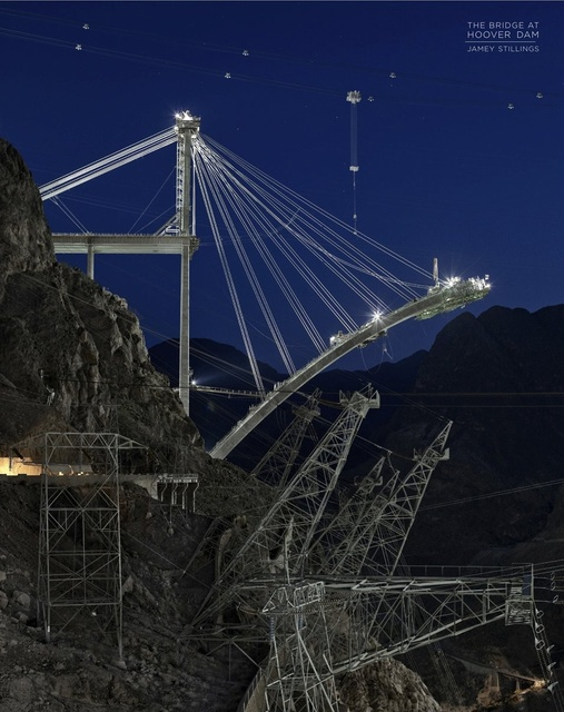Jamey Stillings | The Bridge at Hoover Dam $67.00 + HST & Shipping